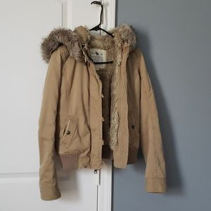Heavy jacket. Abercrombie